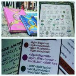 Quran merah jambu an nur asli kilan
