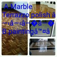 Polishing = marble tiles parquet varnish