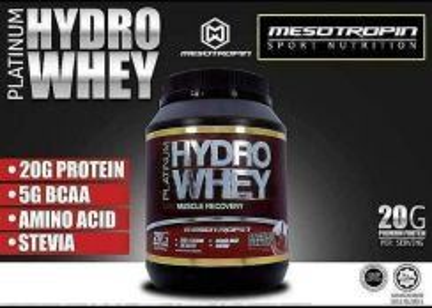 Hydrowhey protein mesotropin cod dan pos laju