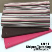 Kain Cotton Stripes Matching SM-17