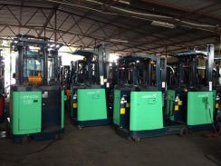 JAPAN Imported TOYOTA ELECTRIC Lift Reach FORKLIFT