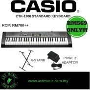 Casio standard keyboard CTK-1300 CTK1300