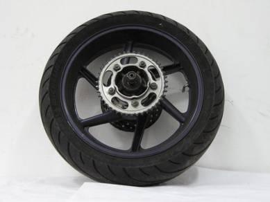 Honda cbr 600 REAR WHEEL