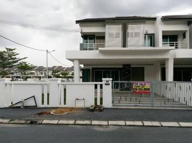 Freehold 2sty Corner, Strand Park, Klebang, Chemor, Perak