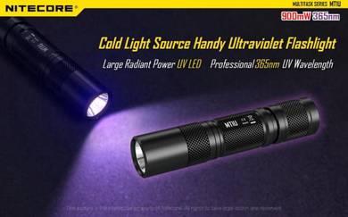 Nitecore MT1U UV Ultraviolet 365NM 900MW LED Light