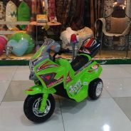 Motor bike Police for kanak-kanak New Offer green