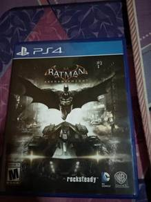 PS4 Batman Arkham Knight and uncharted collection