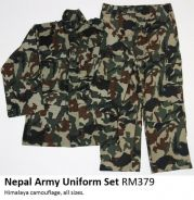 Nepal Army Uniform Set