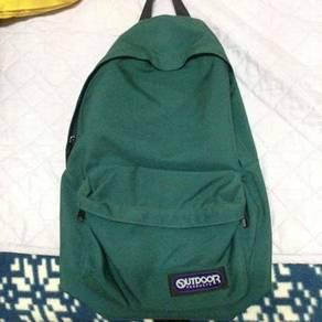 Bagpack outdoors