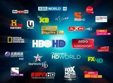 4K/UHD Premium World Plus Xtro Channel Tv Box Deco