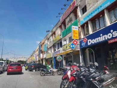Ampang taman muda 3 storey main road 5% ROI below market prime loc