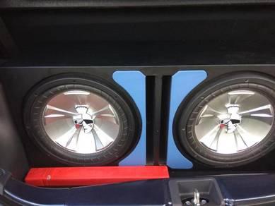 Speaker bass mohawk
