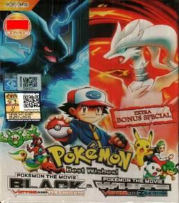 DVD ANIME Pokemon Best Wishes Black & White Pokemo