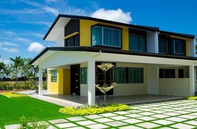 Big Corner Lot [50X85] 2Sty House [Total Rebate 30%] At Seremban 2