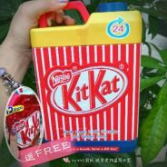 Thailand import Kit Kat water fingers
