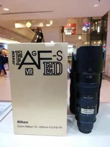 Nikon af-s 70-200mm f2.8g ed vr lens (97% new)