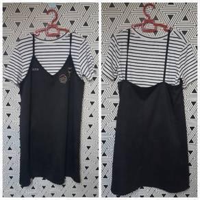 Dress 2 in 1 like Jumpsuit