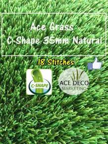 C35mm Natural Artificial Grass Rumput Tiruan 03