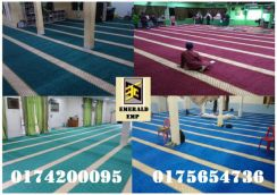 Carpet karpet mosque surau madrasah emerald emp-25