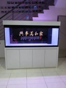 6X2X2.5 Height Complete Set Cabinet Aquarium Baru