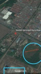 Tanah Tanjung Agas tepi jalan besar bersebelahan SM Sains Untuk Dijual
