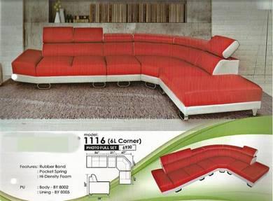 Modern corner sofa-81116