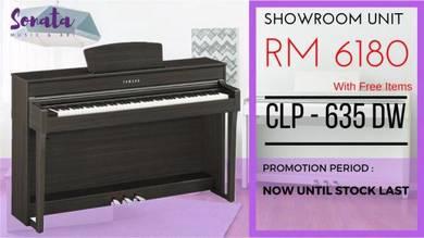 Yamaha Digital Piano Clavinova CLP635 DW (Opened)