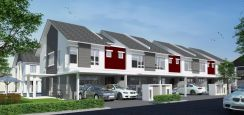 Cash back 20k + 0% Downpayment 2 story house seri kembangan free hold