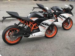 2018 Ktm rc390 abs EASY APPROVAL