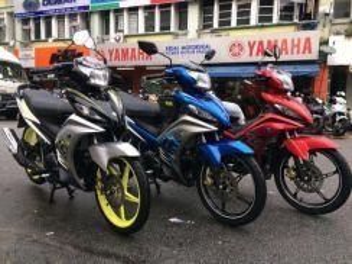 Yamaha 135-lc LOAN EASY APPROVAL tanpa payslip