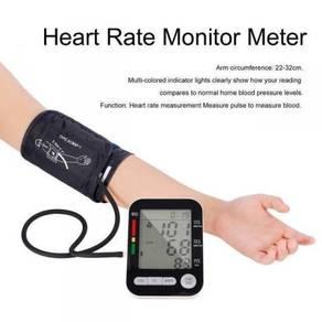 USB Arm Blood Pressure Heart Monitor Kesihatan