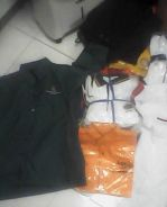 Baju korporat siap sulam borong