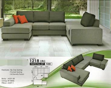 Modern l-shape sofa-81218
