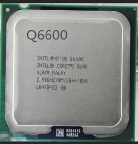 CPU: Intel Core 2 Quad Q6600 2.4Ghz