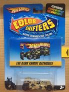 Hotwheels Color Shfiter Dark Knight Batmobile