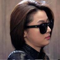 Korea Style Spek Kacamata Hitam Anti UV Sunglasses