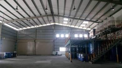 Factory Taman Perindustrian Mahkota Beranang Selangor FOR SALE!