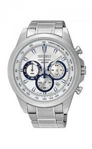 SEIKO Men Chronograph S.Steel Sport Watch SSB239P1