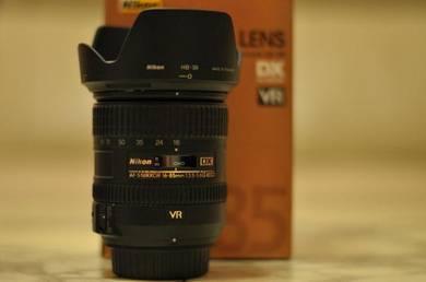 Nikon 16-85mm f3.5-5.6 lens