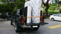 Sofa Transport - Sewa Hilux 4x4