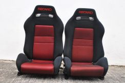 Recaro sr3 red color for wira waja putra