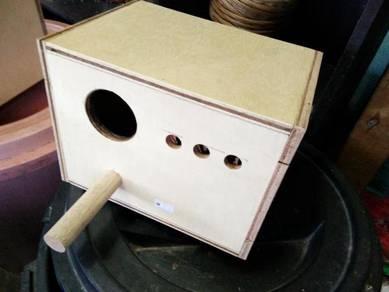Love Bird Nestbox - Kotak Bertelur