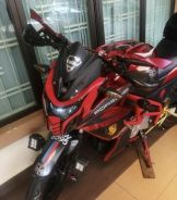 Yamaha FZ150I 2016 Red Power