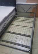 Katil besi heavy duty tahan karat single bed