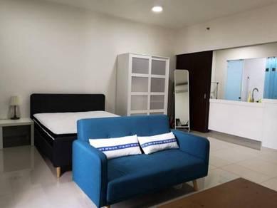Trefoil Studio, Full Furnished (Included maintenance fee), Setia Alam