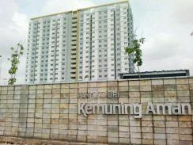 Apartment kemuning aman, sec 32, shah alam