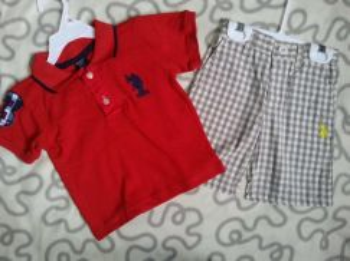 US Polo Boy Set