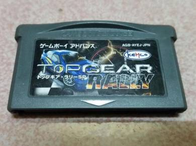 Gameboy Advance Top Gear Rally Japanese