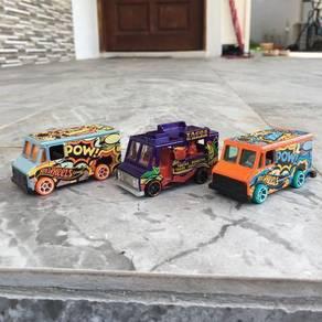Hotwheels boombox truck