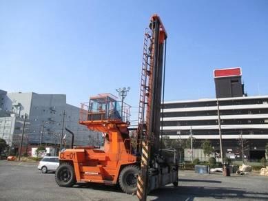JAPAN MITSUBISHI FD210 21 ton SPREADER FORKLIFT